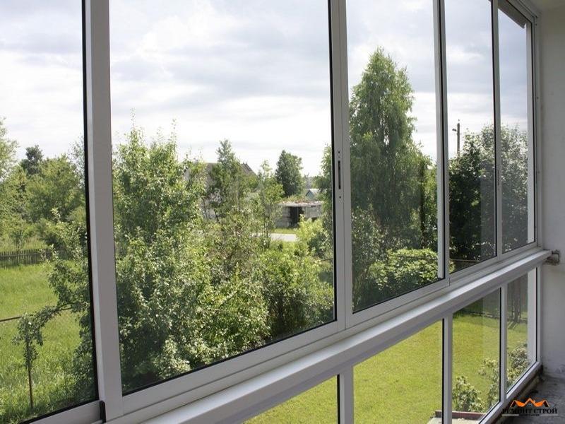 Алюминиевые окна монтаж