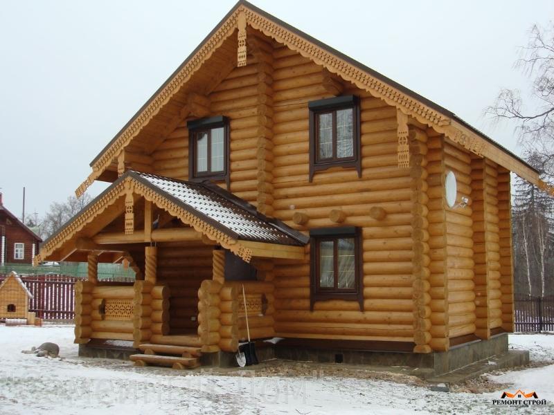 Дома из бревна Нижний Новгород