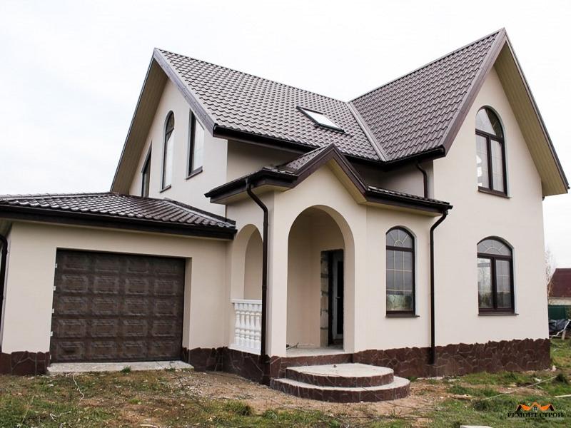 Одноэтажные дома из бруса финские с верандой - лучшие