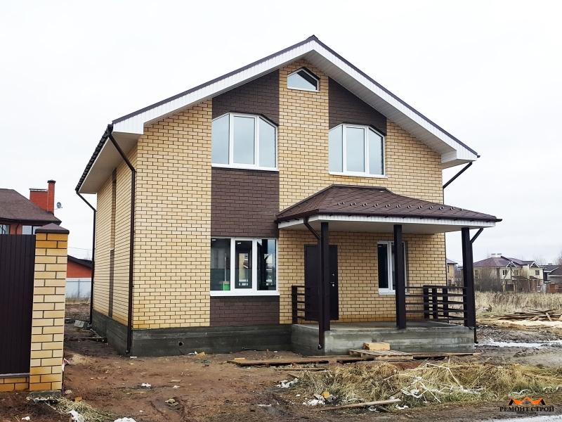 Дом из кирпича к-140