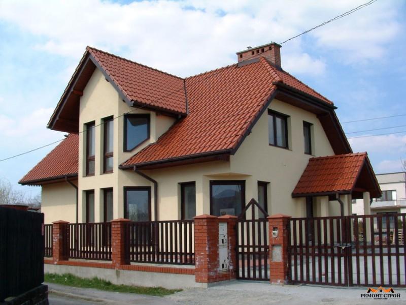 Дом из кирпича к-152