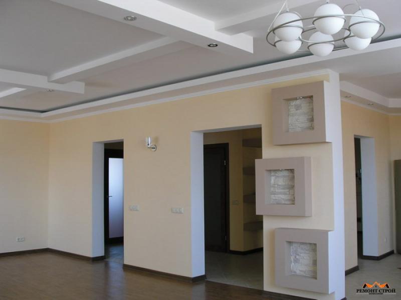 Отделка помещений квартир