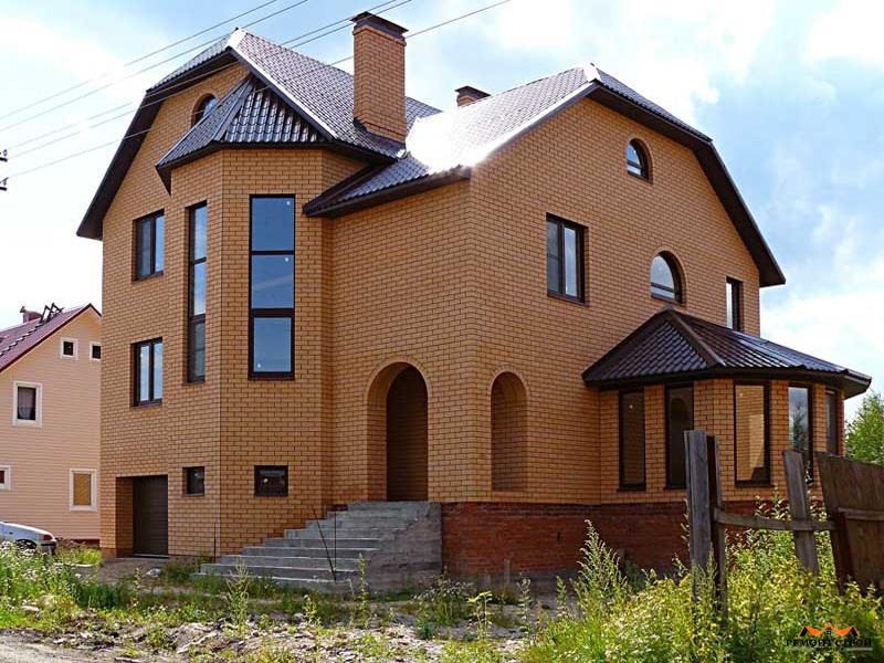 Стоимость дома из кирпича