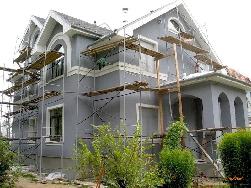 внешний ремонт дома