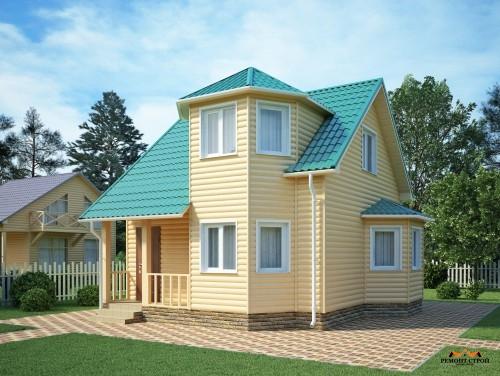 Проект дома 0107