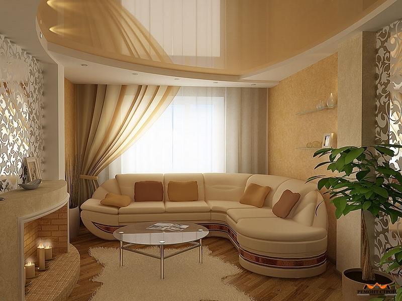 Ремонт гостиной квартиры