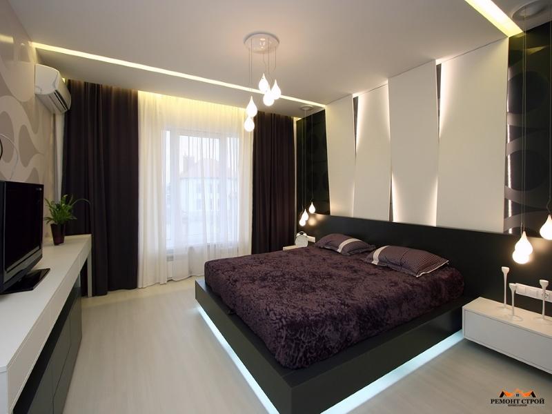 Ремонт квартиры в спальне
