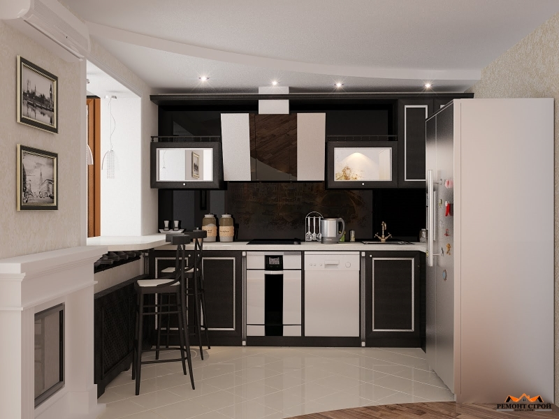 Ремонт кухни дома
