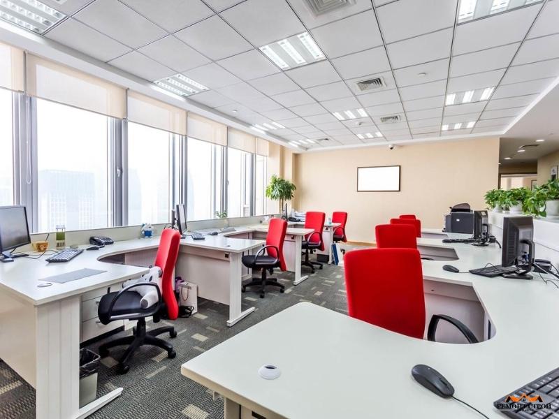 Стоимость ремонта офиса