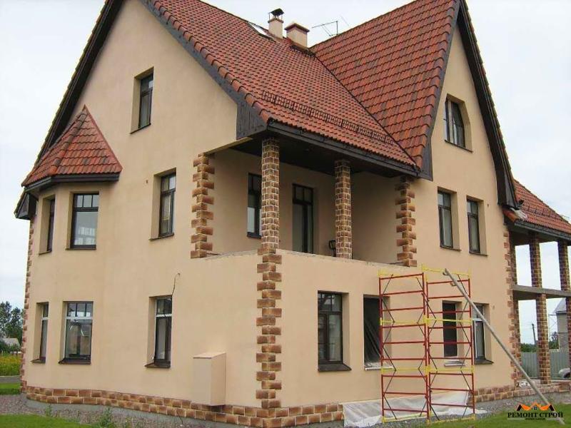 Отделка наружная домов