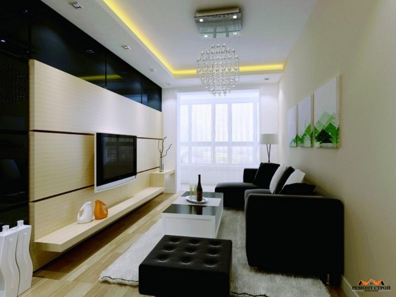 Ремонт гостиной комнаты