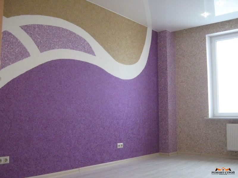 Ремонт стен квартир