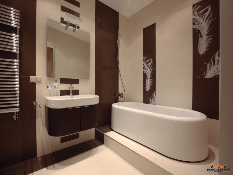 отделка ванной панелями