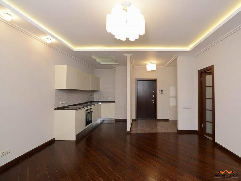 Отделка двухэтажной квартиры