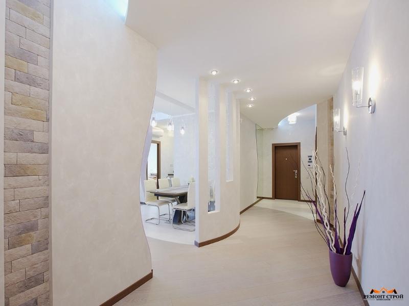 Интерьер квартиры площадью 70 квм, Москва - Фото ремонта