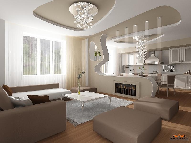 Дизайнерский ремонт комнаты