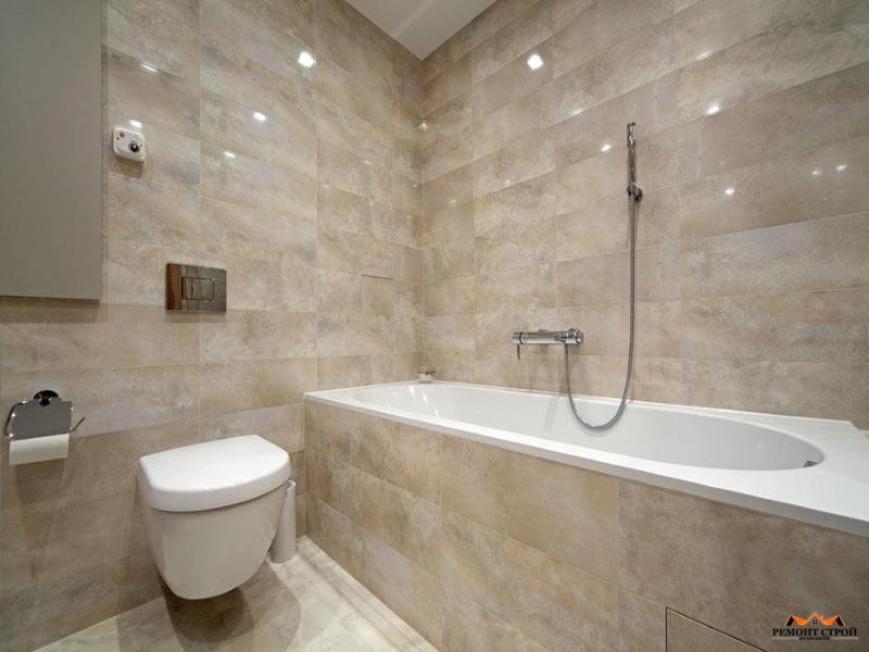 Ремонт ванной комнаты панелями