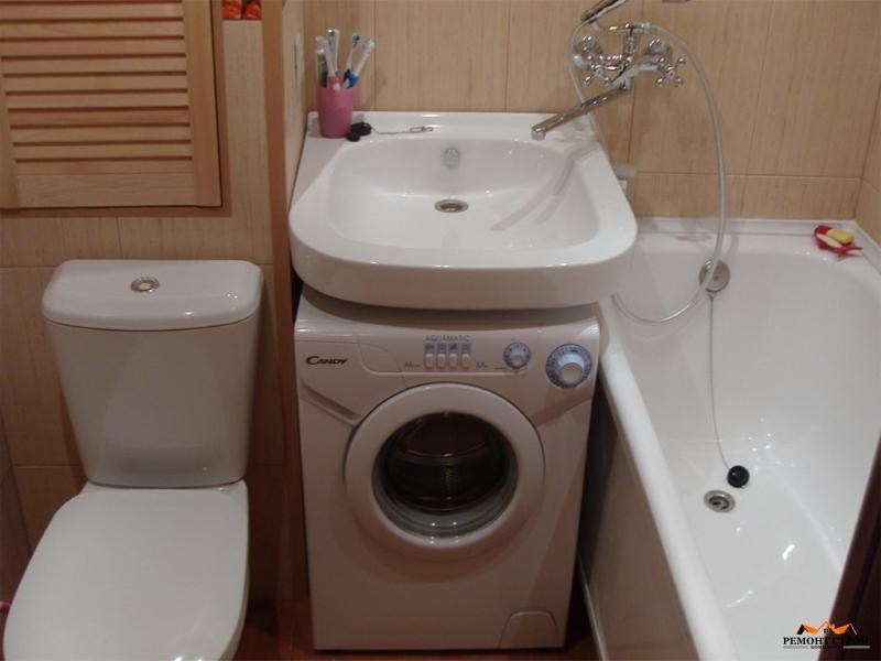 Ремонт совмещенной ванной