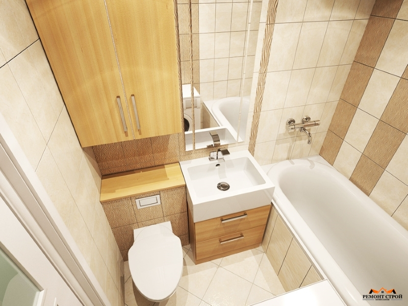 Ремонт совмещенной ванны