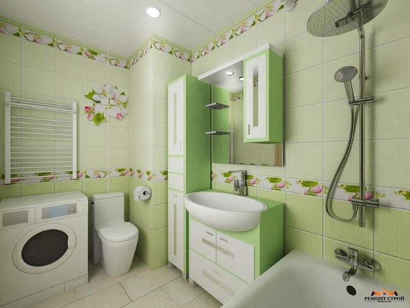 Ремонт ванной плиткой