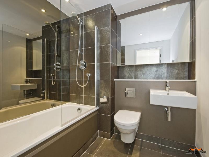 Ремонт ванной под ключ в доме