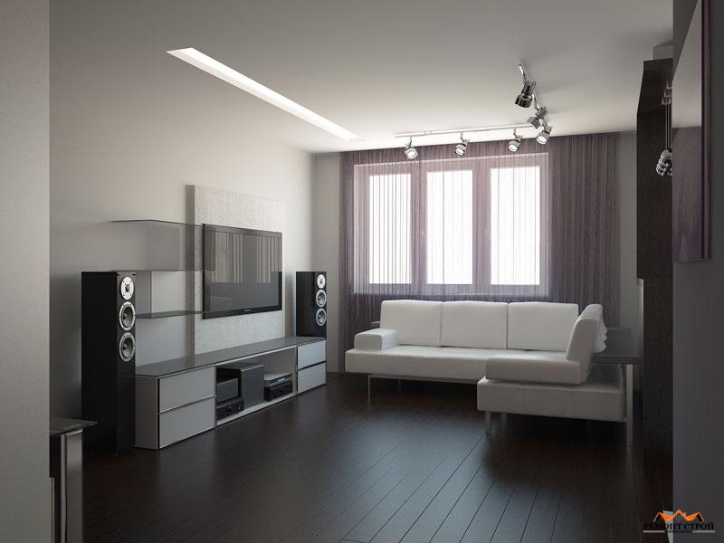 Ремонт однокомнатной квартиры в новостройке Нижний Новгород