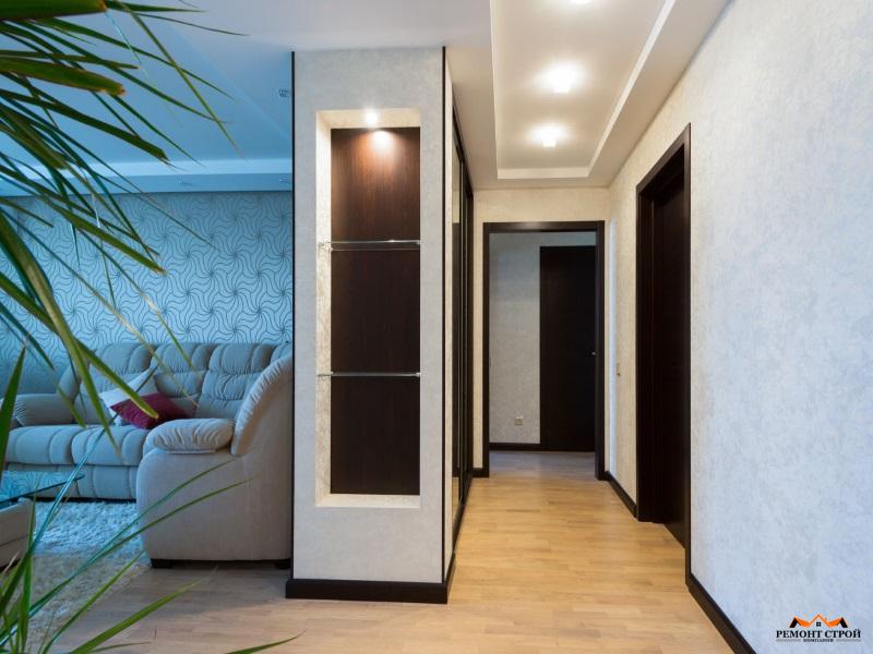 Ремонт трехкомнатной квартиры в новостройке Нижний Новгород