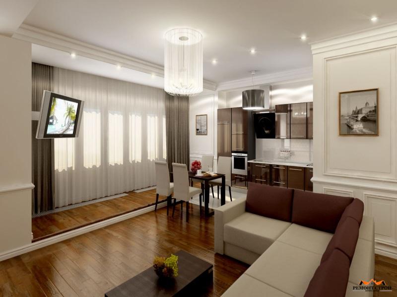 Ремонт трехкомнатной квартиры в новостройке в Нижнем Новгороде